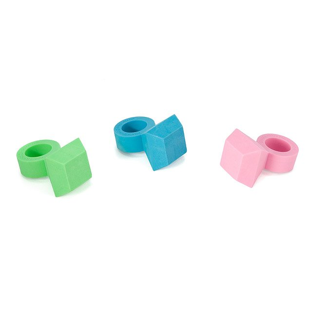 Scented Eraser Rings - Set of 3