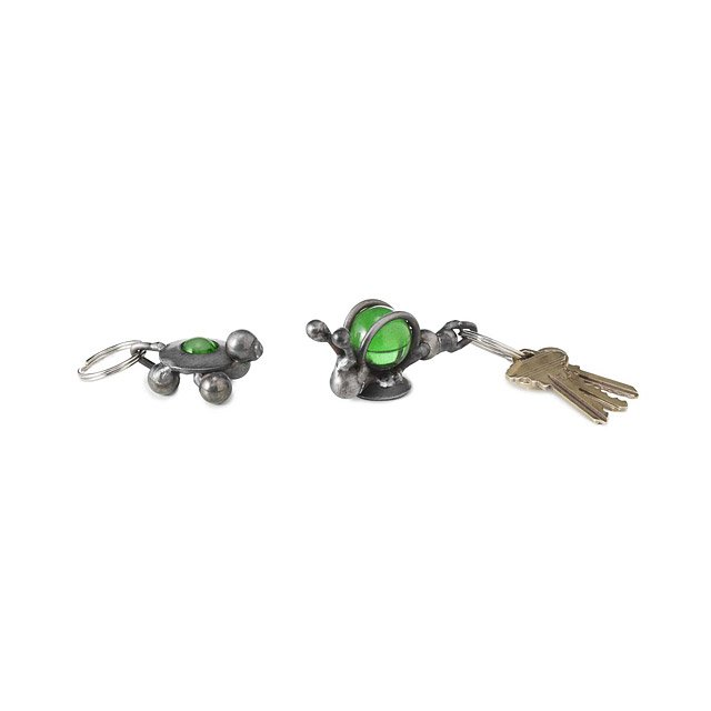 Marble Key Rings: Turtle & Snail
