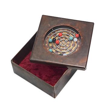 Dartboard Reliquary Box