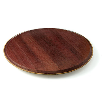 Red Wine Barrel Lazy Susan