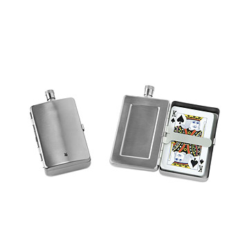 Flask & Card Case