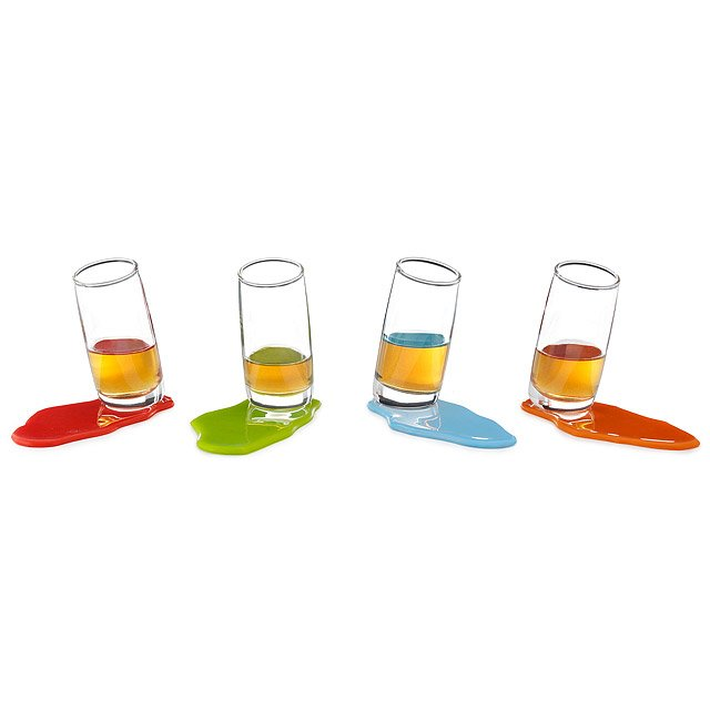 Shot Spilz Glasses - Set of 4