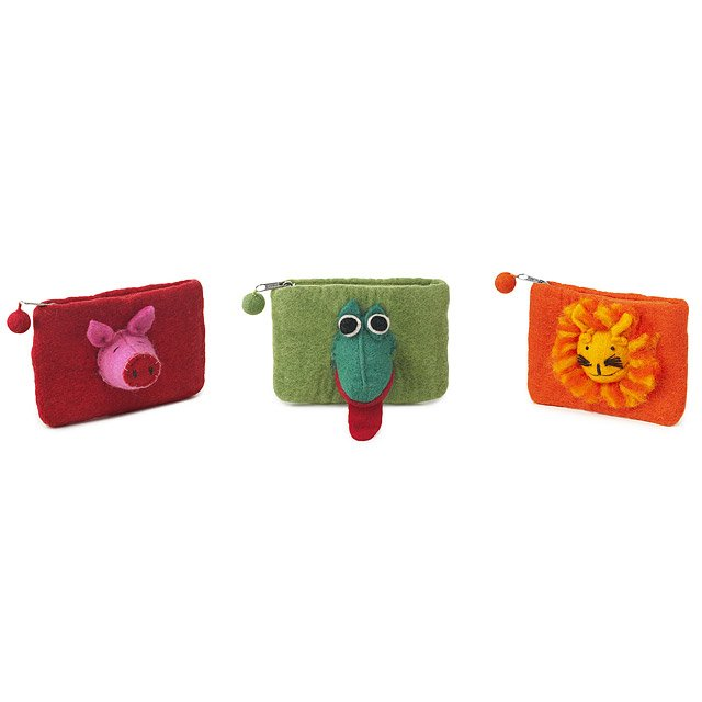 Animal Coin Purses