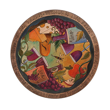 Wine & Cheese Lazy Susan