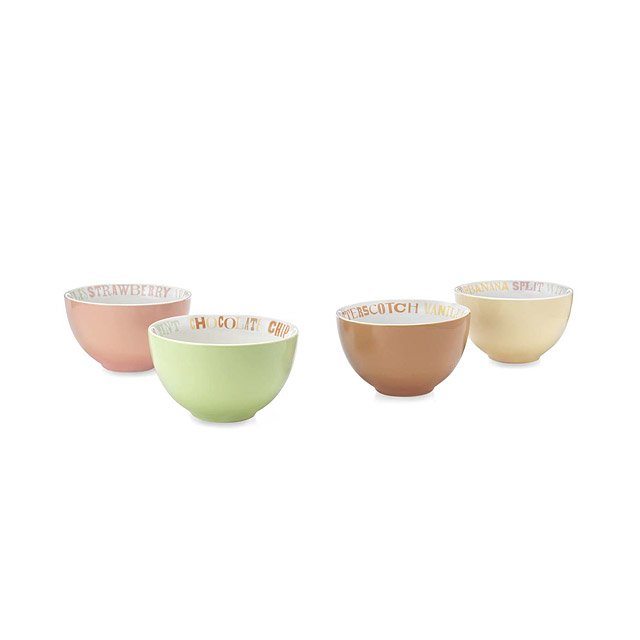 Ice Cream Bowls - Set of 4