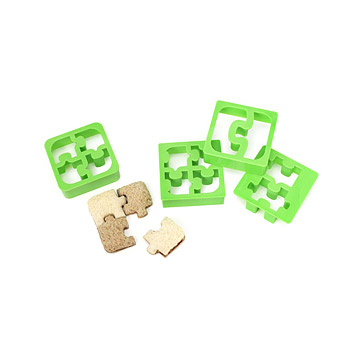 Puzzle Piece Sandwich Cutters - Set of 4