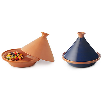 Cooking Tagine: Blue or Natural