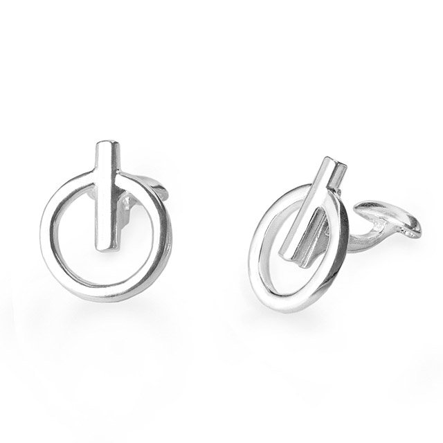 Power Icon Cufflinks