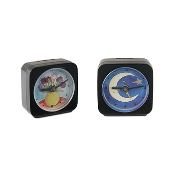 Tulip or Moon & Star Alarm Clocks