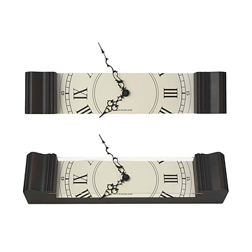 Grandfather Slice Clock
