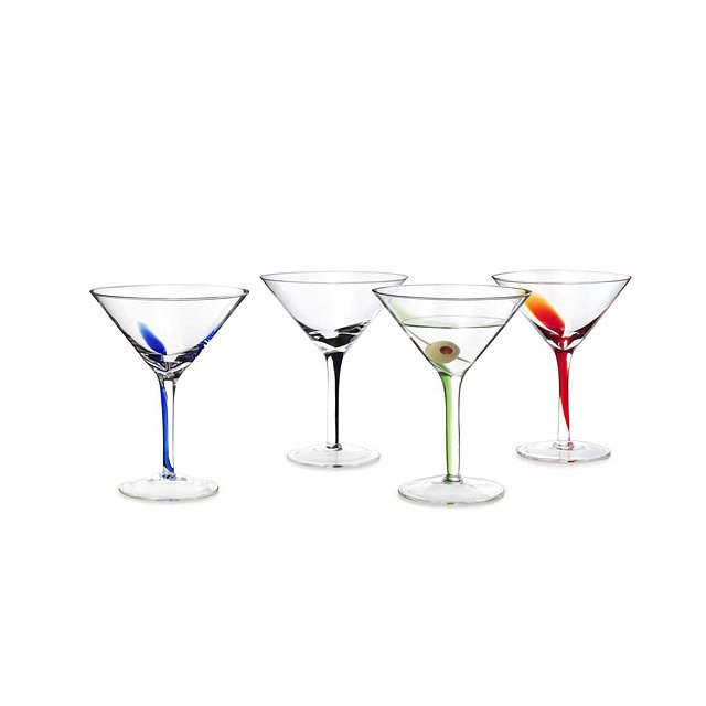 Splash Martini Glasses