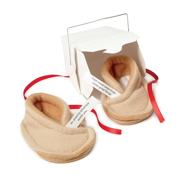 Baby Fortune Cookie Booties 4
