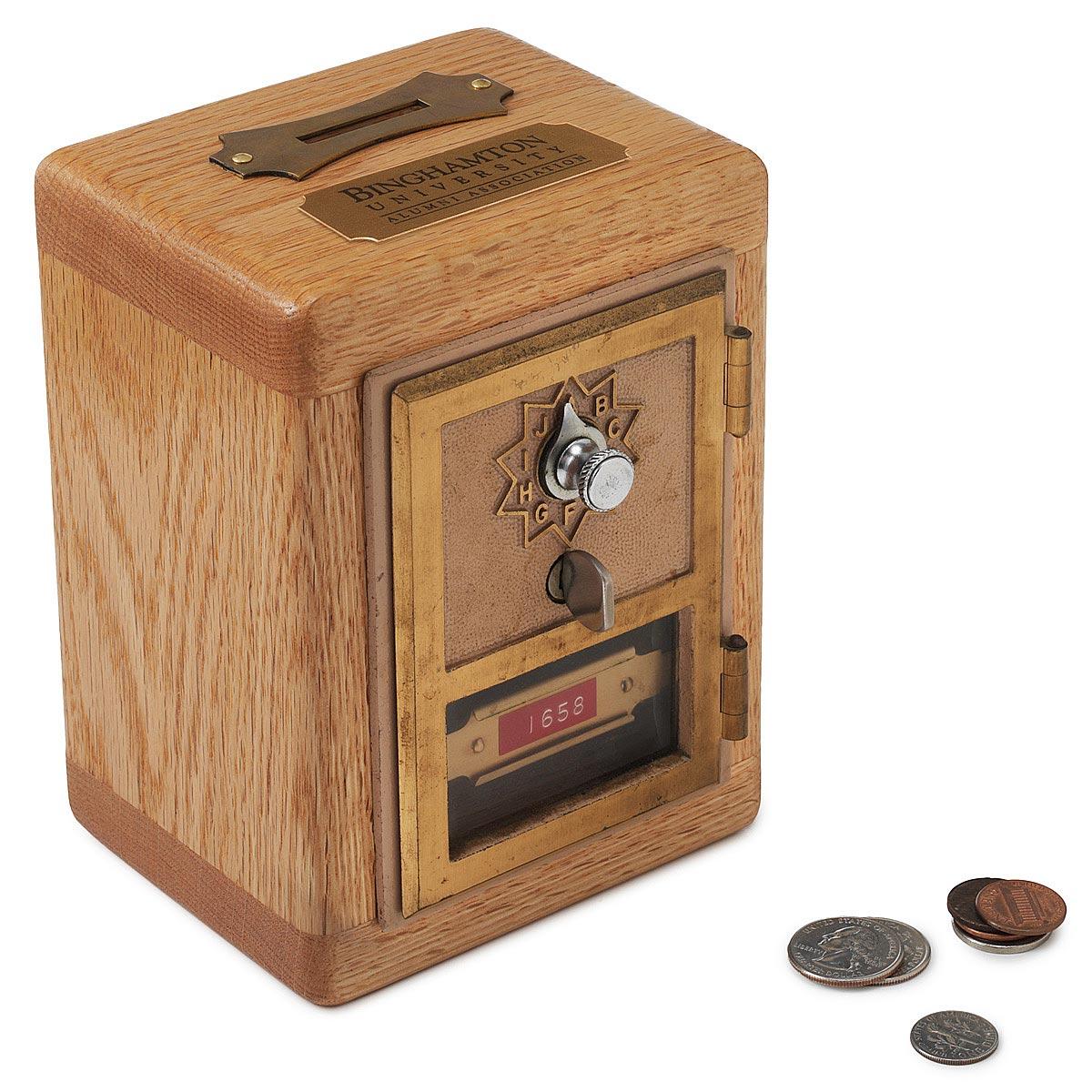 Binghamton University Bank Antique Vault Savings