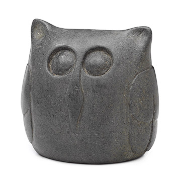 Haiti Owl Sculpture