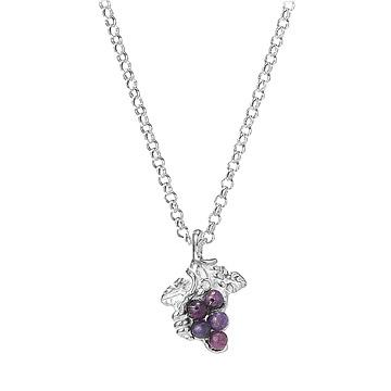 Farmer's Market Grape Necklace