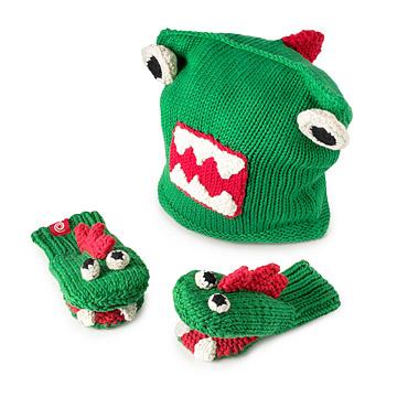 Dino Hat & Mittens