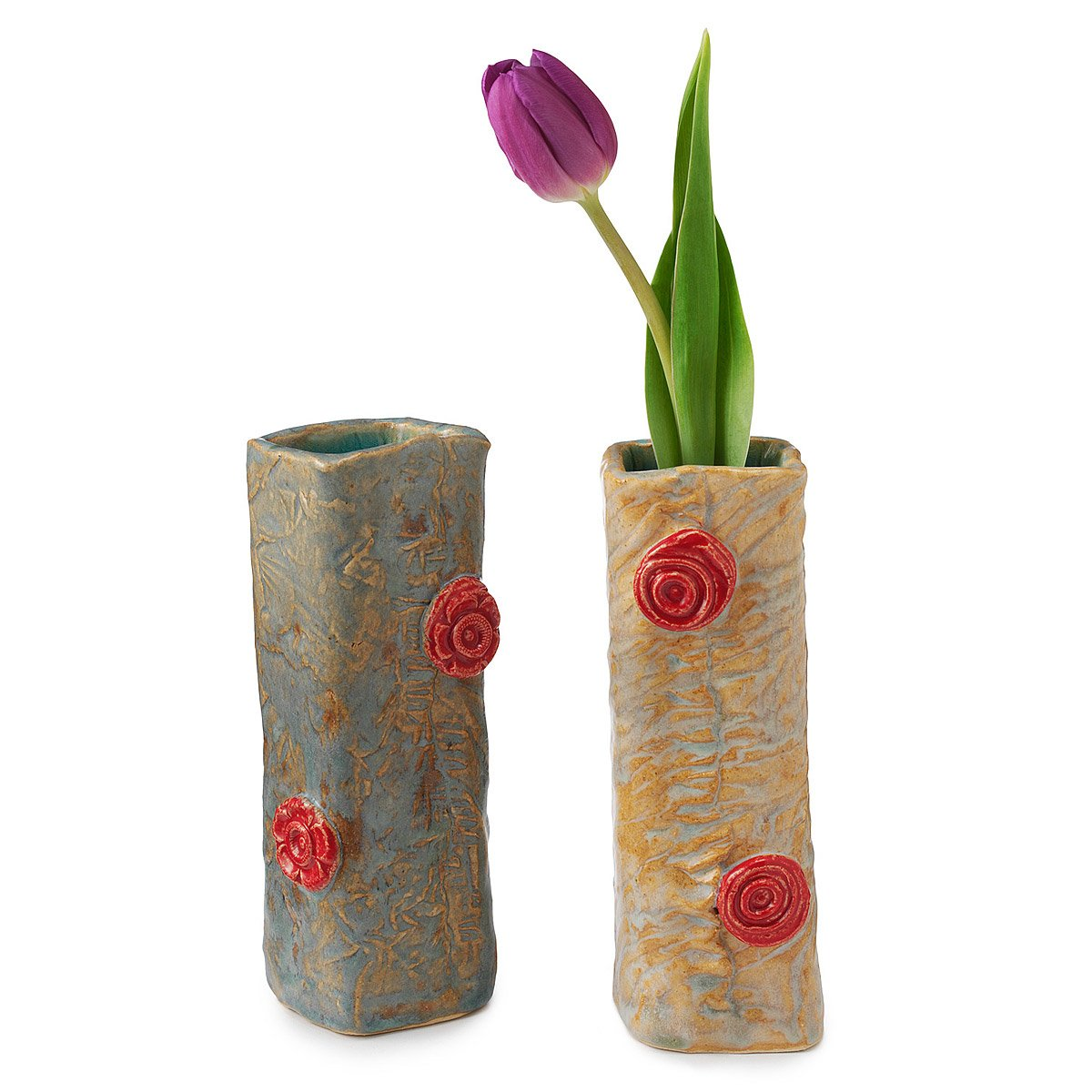 rosette vases handmade artist home decor clay home decor lookbook uncommongoods
