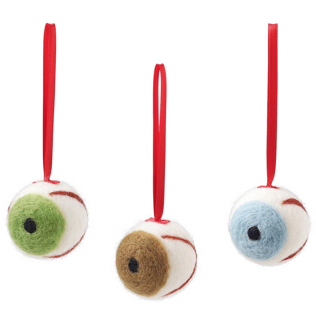 Eyeball christmas ornaments - Ornaments Halloween Decoration Christmas Tree Fun Quirky Eyes