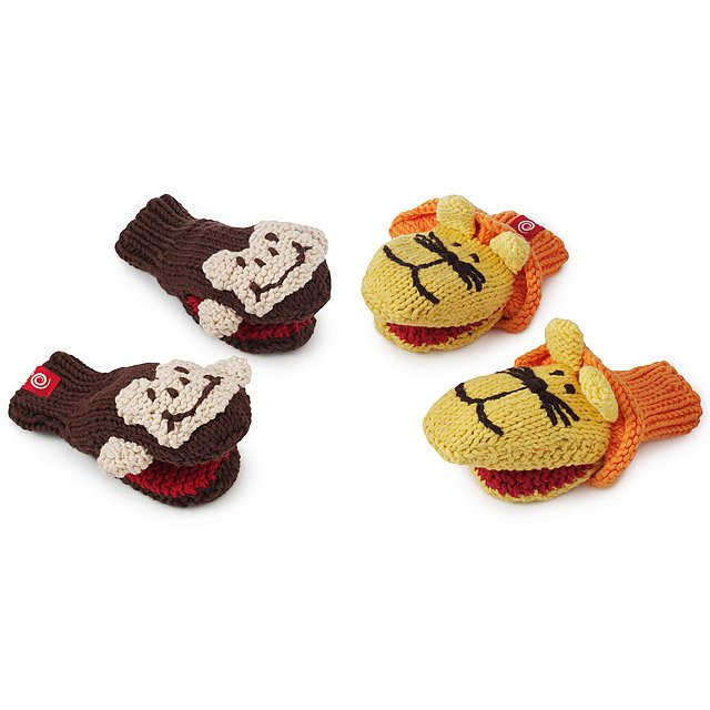 Monkey & Lion Mittens