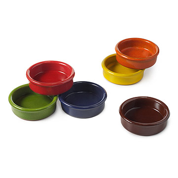 Multi-Color Dipping Bowls