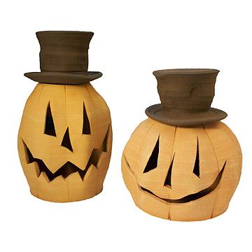 Ceramic Jack O' Lantern