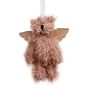 Teddy Bear Angel Ornament
