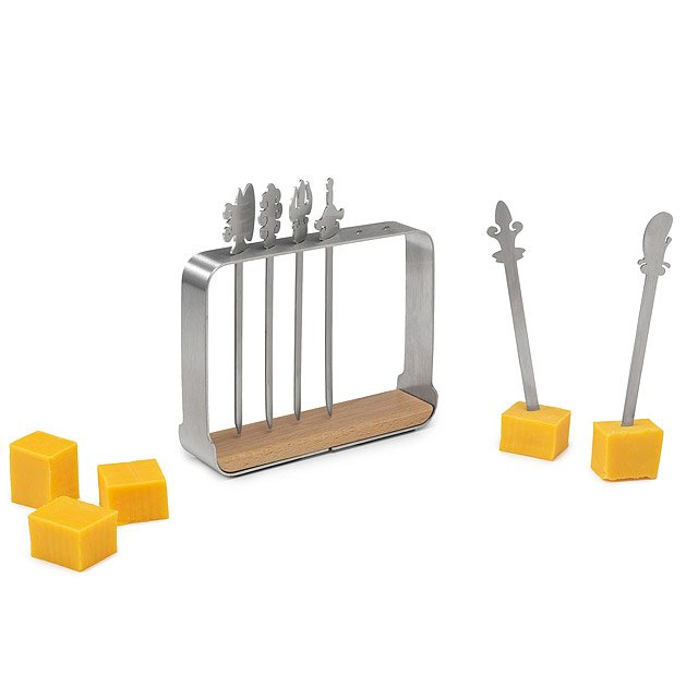 Asian Weapon Cheese Knife Set
