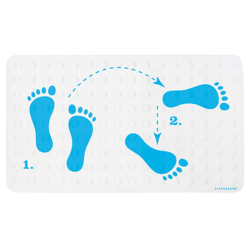Dance Steps Bath Mat