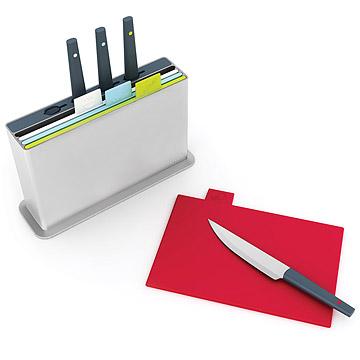 Index Cutting Board & Knife System
