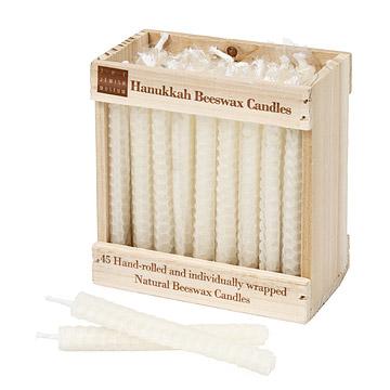 Beeswax Menorah Candles