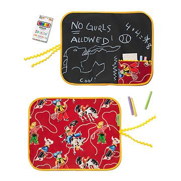 Cowboy Roll 'N' Go Chalkboard Mat
