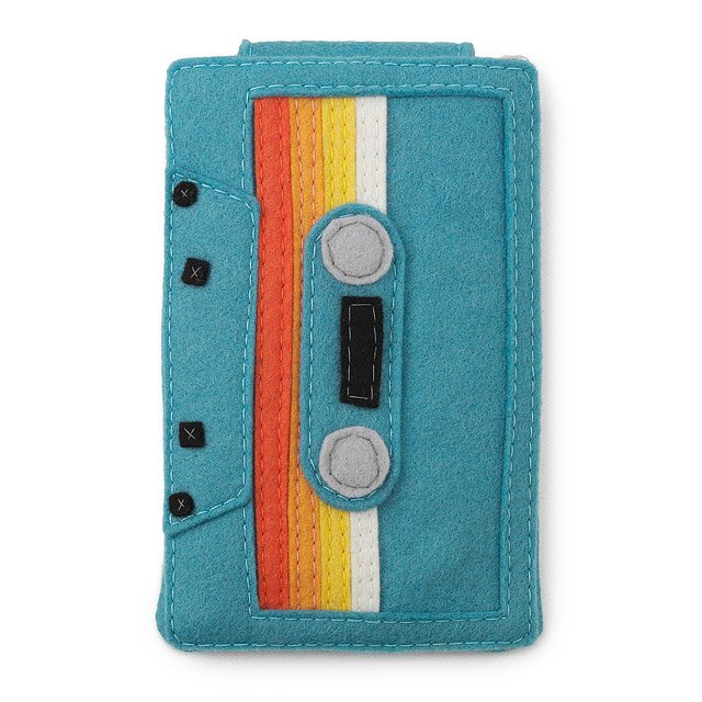 Teal Phone and Ipod Case