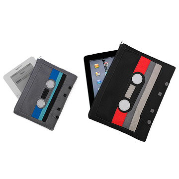Cassette E-Reader and Ipad Pouch