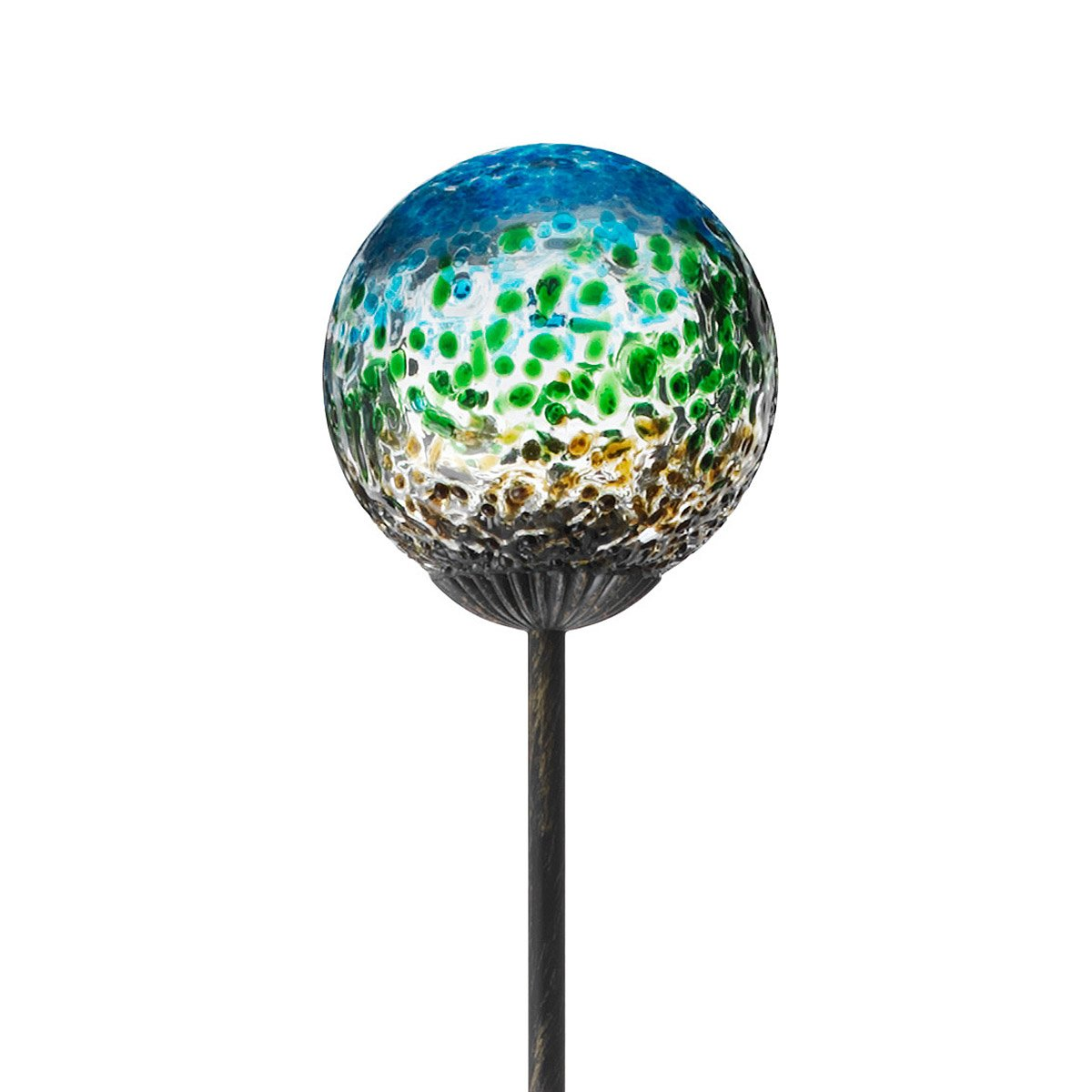 Garden Globe Lights Solar : Globe garden accessories solar powered decor outdoor lighting