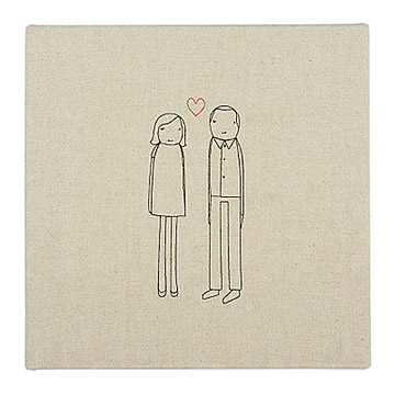 Personalized Couple Art