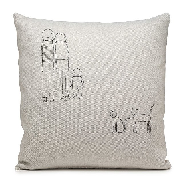 Personalized Family Pillow 2