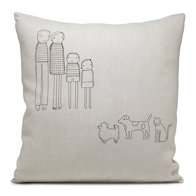 Personalized Family Pillow 3