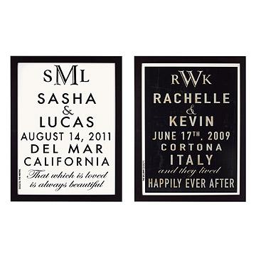 Customizable Wedding Announcement Art