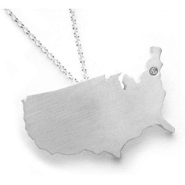 Custom State Necklaces 3