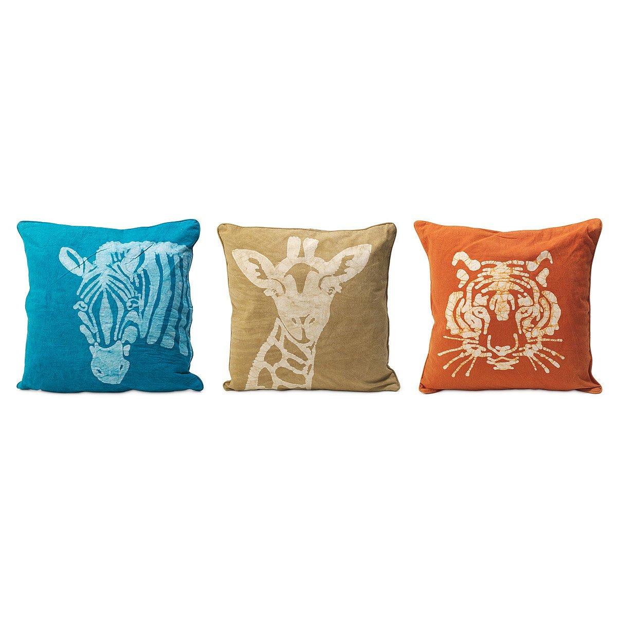 Safari Animal Pillows safari animal pillows home decor