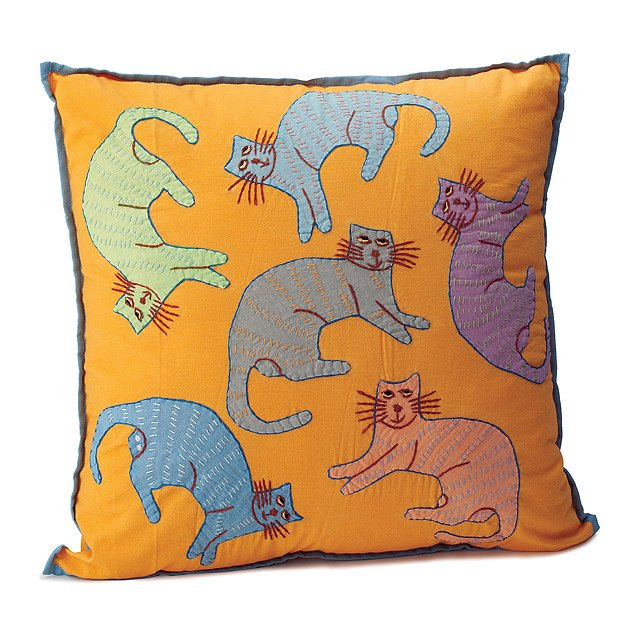 Cats of the World Pillow