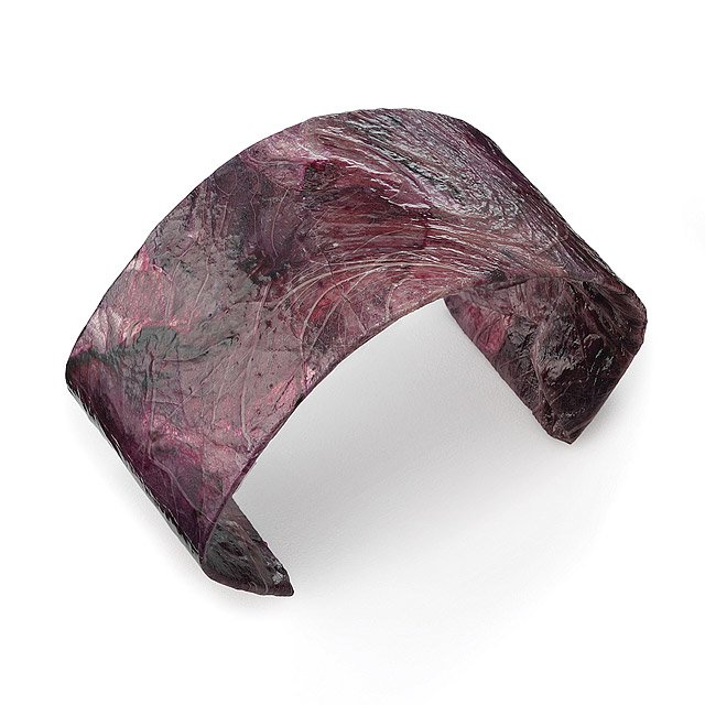 Purple Cabbage Cuff