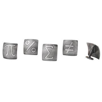 Math Symbol Cufflink