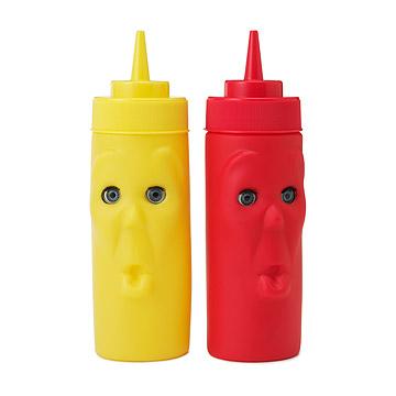 Blink Ketchup & Mustard Bottles