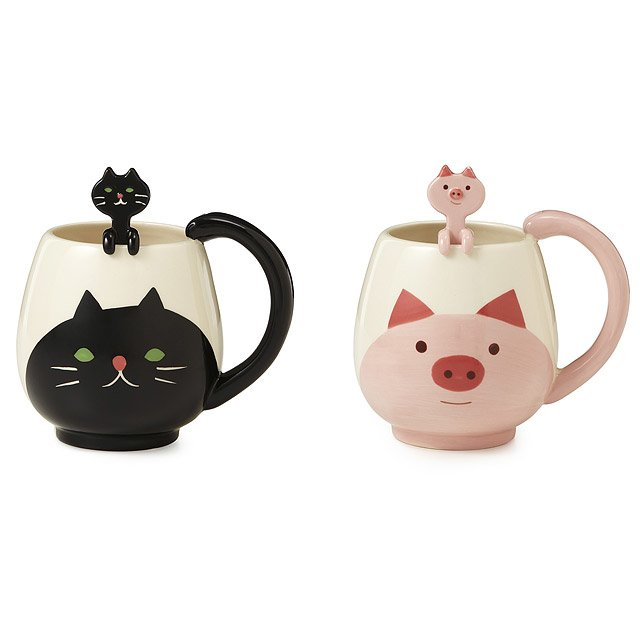 Animal Mug with Spoon 2