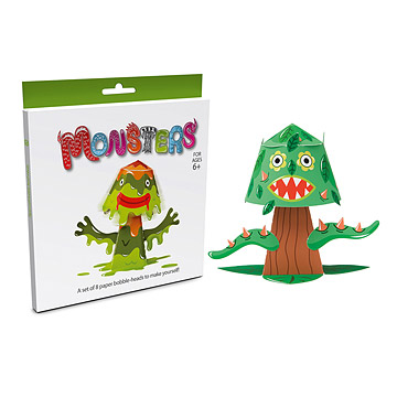 Monster Paper Bobble Heads