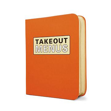 Takeout Menus Organizer