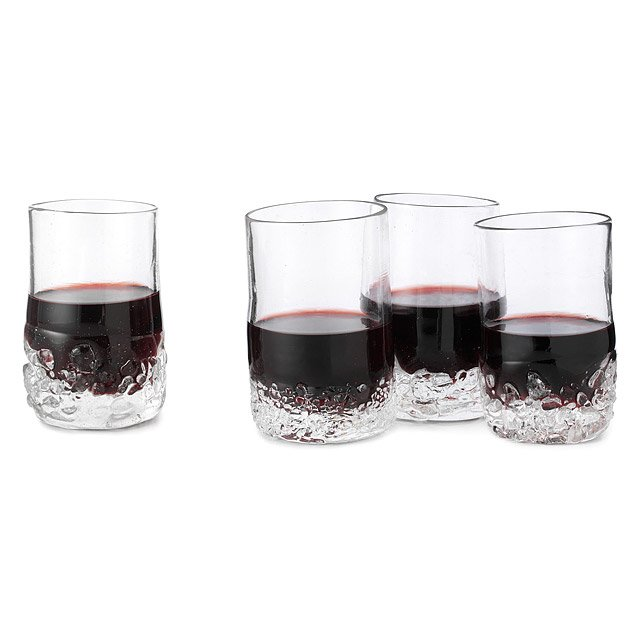 On the Rocks Wine Glasses - Set of 4