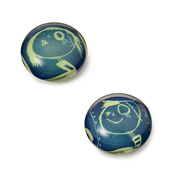 Girl and Boy Paperweights