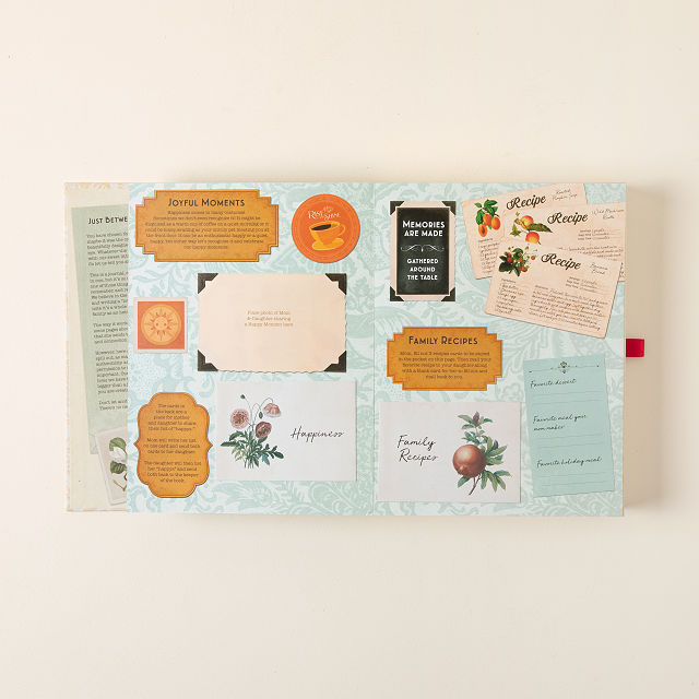 Mother & Daughter Letter Book Set 4